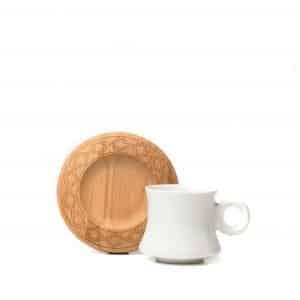 Maple Espresso Cup & Saucer | Set of 2 | 80ml