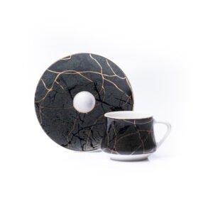 Ember Espresso Cup & Saucer | Set of 2 / 6 | 80ml